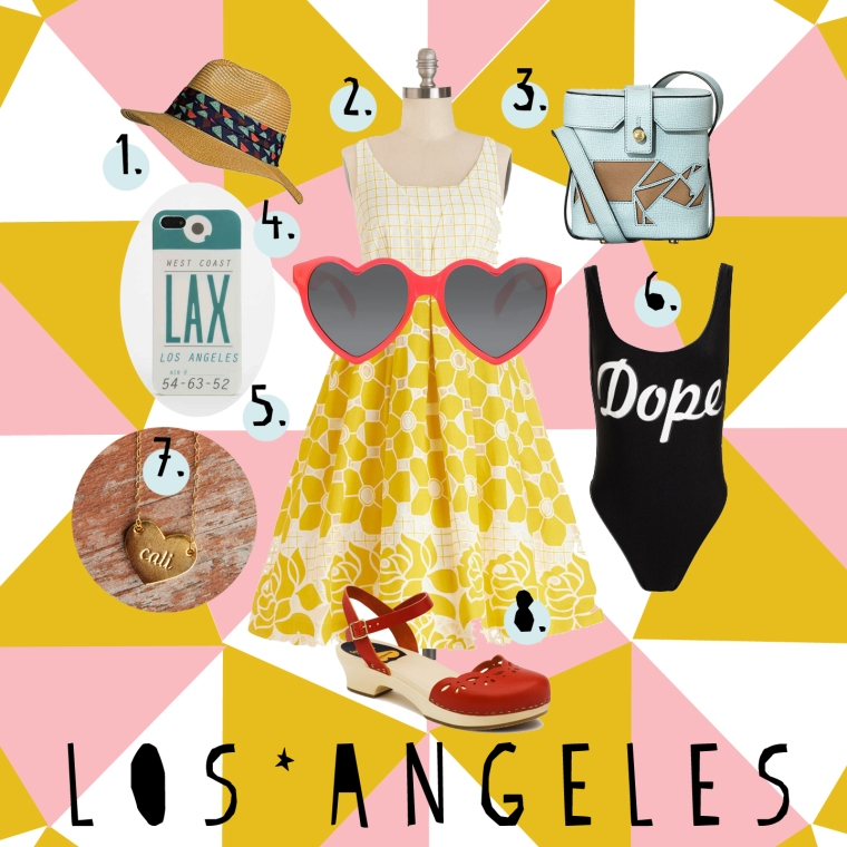 L.A. Packing List