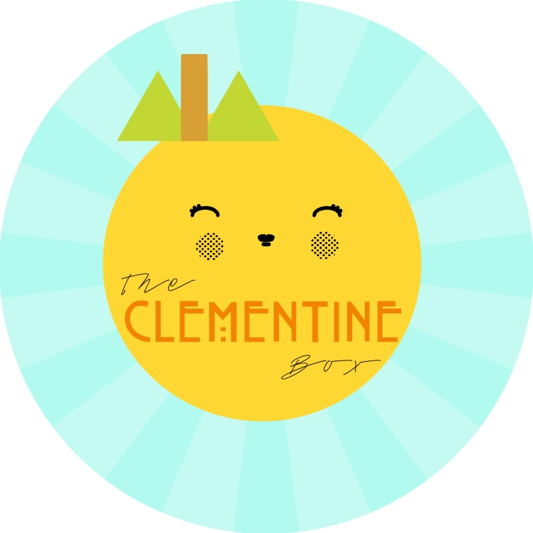 The Clementine Box (Kawaii Logo)