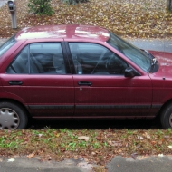 Meet Merlot! 1994 Nissan Sentra XE Sedan 4-Door For Sale!