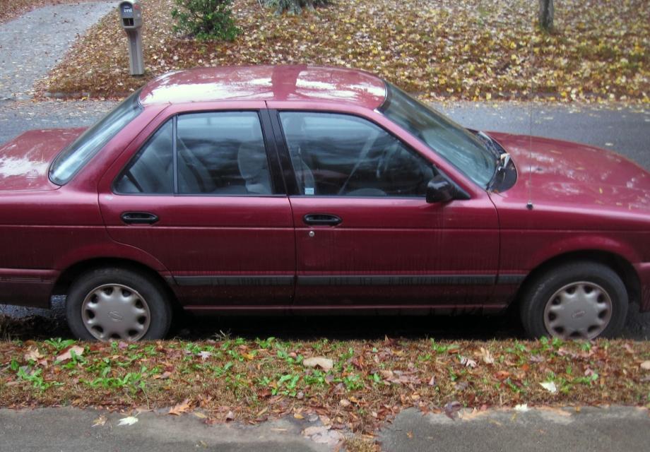 Meet Merlot! 1994 Nissan Sentra XE Sedan 4-Door For Sale!
